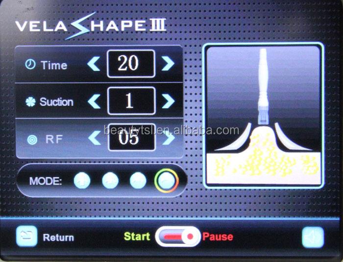 Syneron Velashape máquina de venta / cavitación ultrasónica adelgaza la máquina