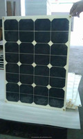 60W High efficiency custom size flexible solar pv panel