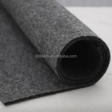 """100% Wool Felt Fabric - 1 Yard x 1/2 Yard (36"""" x 18"""") - 3mm Thick - Made in Western Europe - Natural Dark Grey"""