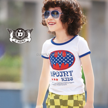 Dongguan Haoying Factory OEM or Wholesale short sleeves cotton original design casual children t shirts