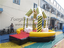 hot sale inflatable sport wrecking wall game
