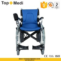 TOPMEDI Rehabilitation Therapy Supplies aluminum alloy frame Handicapped power or manual using electric wheelchair