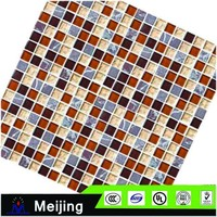 New products floor tiles tiffany stained glass backsplash glass mosaic tile for background setting