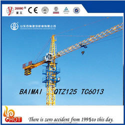 QTZ100 TC6013 tower crane high quality products china famous brand