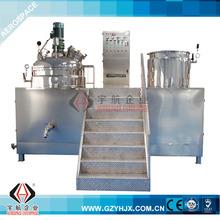 Vacuum Emulsifying Mixer Machine with Bottom Homogenizer (fixed type)