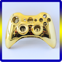 Chrome Full Housing Shell Faceplate for Xbox 360 Wireless Controller