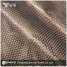 100% Polyester Popular Bronzing Micro Suede Fabric For Sofa/Garment/Home Textiles