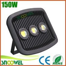 2015 outdoor led floodlights 150 watts,Meanwell and Bridgelux 150W COB LED Flood Light