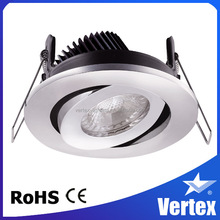 IC rated decorative light COB led downlight