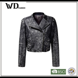Leather jacket motorcycle, girls leather jacket, jacket in new model
