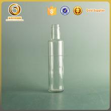 Hot sale round shape 250ml olive oil glass bottle