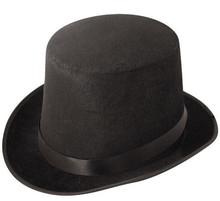 Cheap man hat wholesale mini top hat/ men top felt hat HT8112