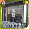 Commercial entrance doors grill design/security stainless steel rolling grille door