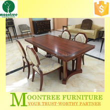 Moontree MDT-1125 Top Quality Modern Design Dining Table and Chairs