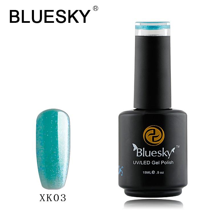 Nail Color Etiquette: Bluesky Couleurs D'origine Usine Gros Uv Gel Vernis à