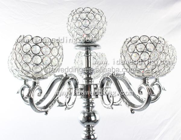 Crystal Bowl Columns Wedding Decorationsindian Wedding Pillars
