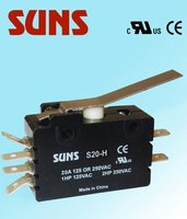 UL approval S20-H 20A 125V mini micros switch