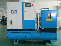 380V All-in-one screw air compressor special for car wash