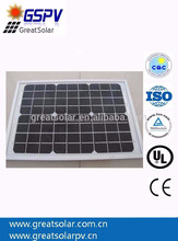 Custom size 50w mono solar panels , small solar power system,mini solar panel for led light
