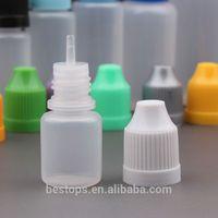 Cheap wholesale dropper bottles eliquid screw plastic cover and silicone sleeve drop ecigarette liquids Free Shrink Film