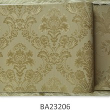 2015 new italuxu decorative wall covering, european leaves wall covering