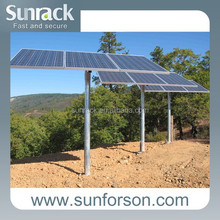 solar panel pole mount structure system mounting racks