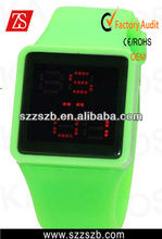 Green Luxury Sport Style Red LED Digital Date Unsex Watch