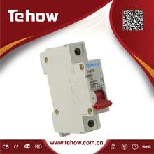 2015 High Quality Curve C MCB C16 16A CE Mark Miniature Circuit Breaker THB18 MCB 1P On Sale