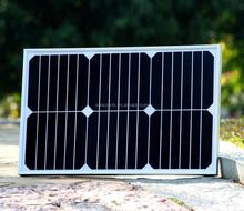 Tempered glass sunpower solar panel