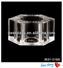 hexagon Transparent surlyn cap for perfume bottles, luxury perfume bottles lids, cheap high quality perfume covers