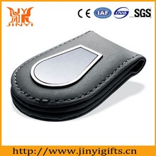 Guangzhou Factory made high quality leather money clip wallet