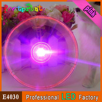 Special led flashing glass plate cool novelty