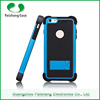 Durable anti-friction dual layer combo case TPU+PC+Silicon with kickstand stand function for Apple iphone 6/ 6 plus