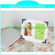Customed Baby Foot Hand Prints Frame small footprint desktop metal keyboard