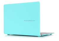Turquoise Soft-touch Rubberized Coating Case for Mac book Pro 13 ""
