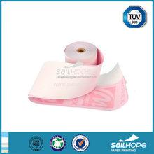 Popular updated reasonable price carbonless paper rolls