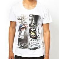 TS10419 Custom Made Screen Print Cotton T Shirt