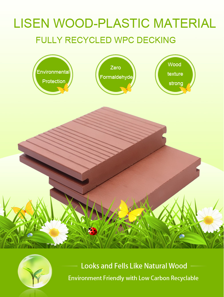 Wood Plastic Composite Stair Flooring Free Samples Plastic