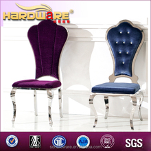 Nuevos productos tela decoración tapicerías de automóvil sillas de la boda