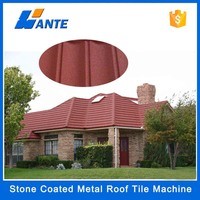 High quality aluminum zinc plate colorful stone coated metal roofing tile, China steel round roof truss design