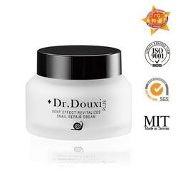 Taiwan best brand dr.douxi lifting best snail face cream