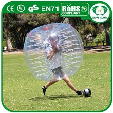 Hot sale promotion activity of pvc inflatable ball/human bubble ball for sale