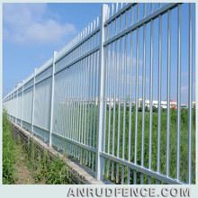 Alibaba China Powder Coated Garden Metal White Picket Fence For Sale