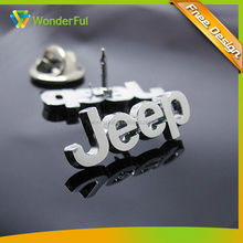 Custom Promotional Cheap Car Logo Badge 2014 Custom Fashional Car Logo Safety Pins For Badges
