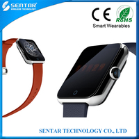 Newest smart watch mobile phone portable custom android mobile phone touch screen gsm smart phone watch