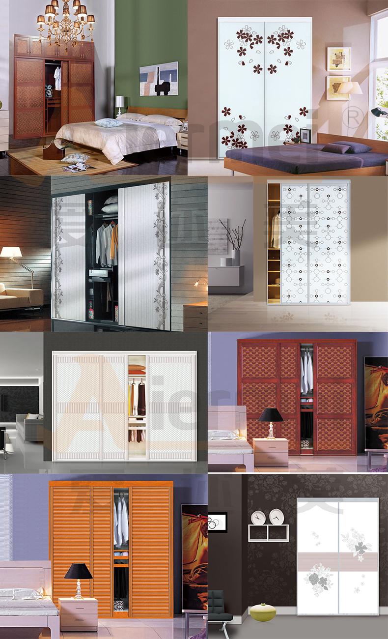 Schlafzimmerschrank design pu leder begehbaren kleiderschrank ...
