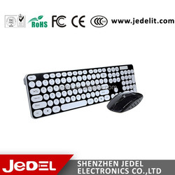2.4G wireless mouse keyboard combo with best quality