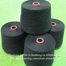 Dark grey tencel cotton melange yarn for T shirt and sweater