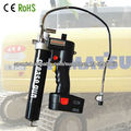 18V China newest electric grease gun used for cranes&excavators
