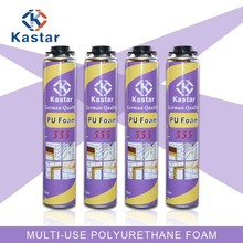 Trade Assurance $30.000 high quality one component polyurethane foam for PVC instrument cables Duct
